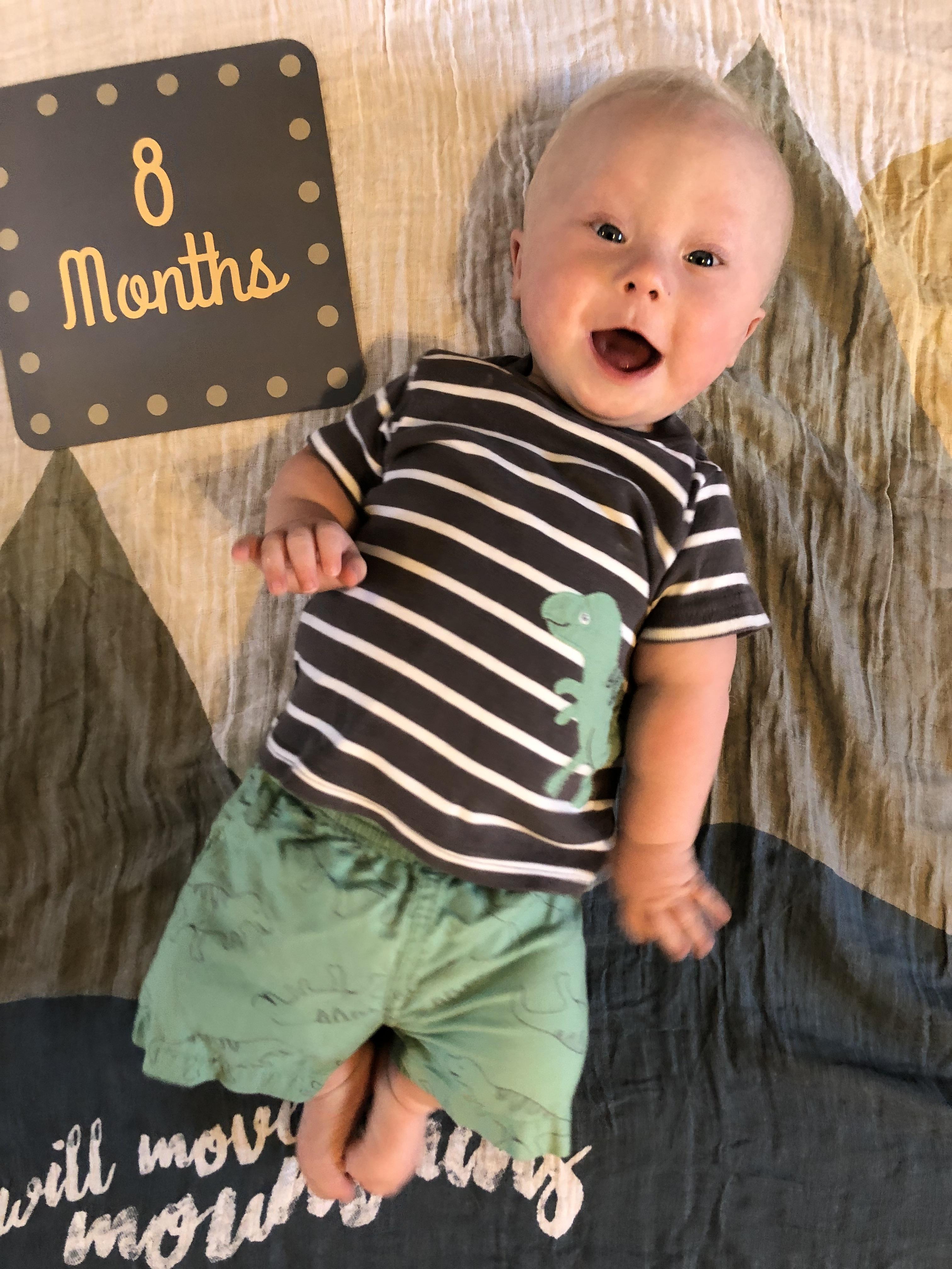 Ashton 8 months